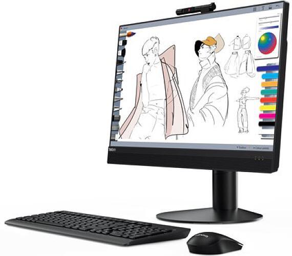 "Lenovo AIO ThinkCentre M70a i5-10400/4GB+4GB/256GB SSD/UHD Graphics 630/21,5"" FHD IPS Multi-Touch/DVDRW/W10PRO/3Y Onsite (11CK003ACK)"