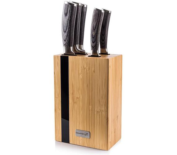 G21 Gourmet Rustic 5 ks + bambusový blok