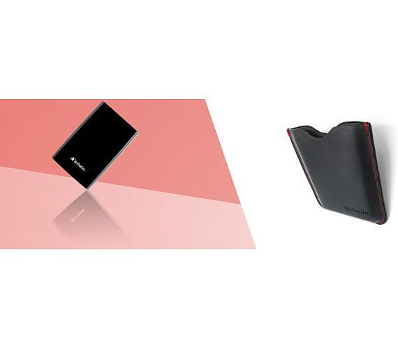 Verbatim externí 1TB HDD Store 'n' Go USB 3.0 + pouzdro (53194+53245)