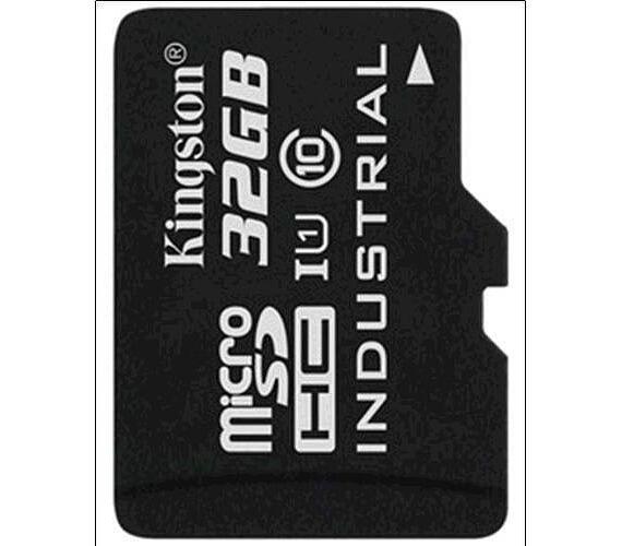 Kingston paměťová karta 32GB Industriální micro SDHC UHS-I CL10 (čtení/zápis: 90/45MB/s) (SDCIT/32GBSP)