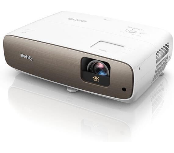 BENQ DLP Projektor W2700i /4K 3840x2160 /2000 ANSI lm/30000:1/2xHDMI/USB/CinematicColor™ (9H.JMP77.38E)
