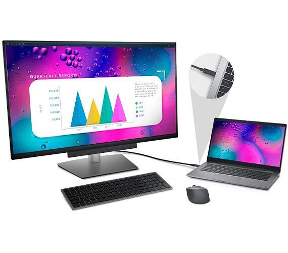 "Dell P3221D LCD 32""/8ms/1000:1/HDMI/USB 3.0/USB-C/DP/2560x1440/IPS panel/cerny (210-AXNJ)"