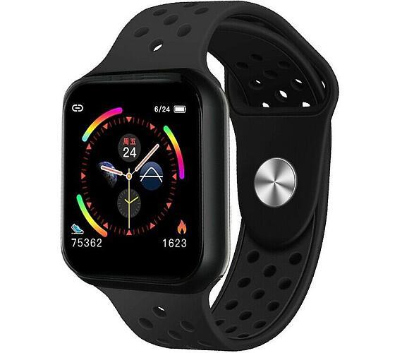 """IMMAX chytré hodinky SW13 PRO/ 1.3"""" dotykový TFT LCD/ BT/ IP67/ Android 2.3 / iOS 4.0 a vyšší/ čeština/ černé (09038)"""