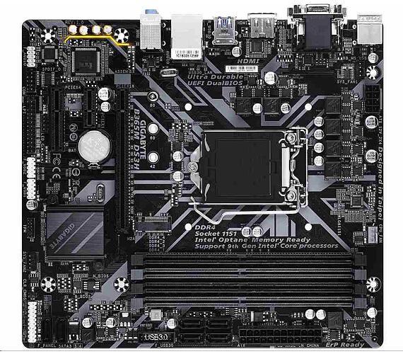 Gigabyte MB Sc LGA1151 B365M DS3H