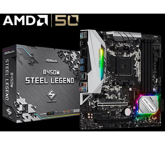 ASROCK MB B450M STEEL LEGEND (AM4