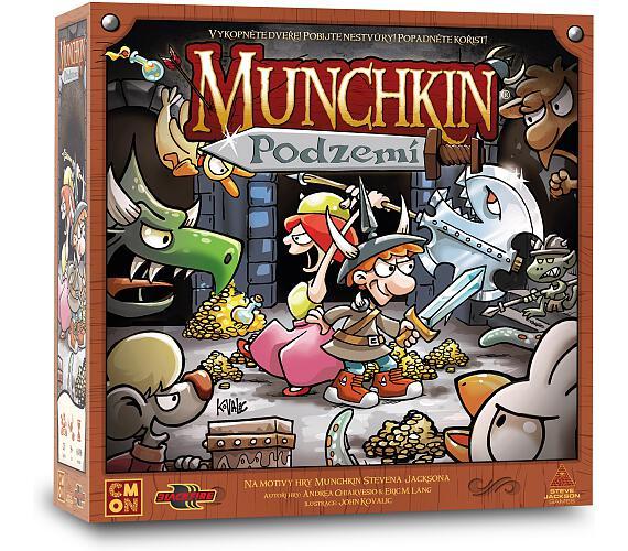 Munchkin: Podzemí + DOPRAVA ZDARMA