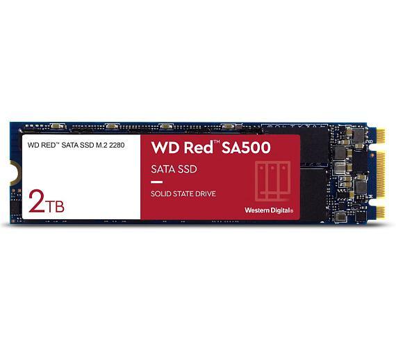 WD RED SSD SA500 2TB / Interní / M.2 2280 / SATAIII / 3D NAND (WDS200T1R0B)