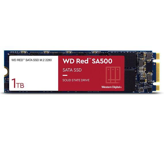 WD RED SSD SA500 1TB / Interní / M.2 2280 / SATAIII / 3D NAND (WDS100T1R0B)