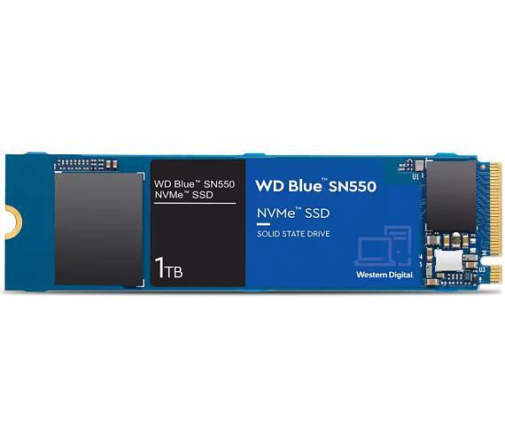 WD SSD Blue SN550 1TB / WDS100T2B0C / NVMe M.2 PCIe Gen3 / Interní / M.2 2280