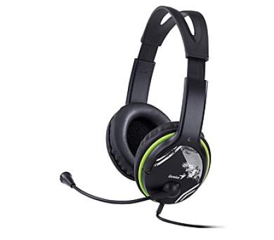 Genius HS-400A - černý/zelený