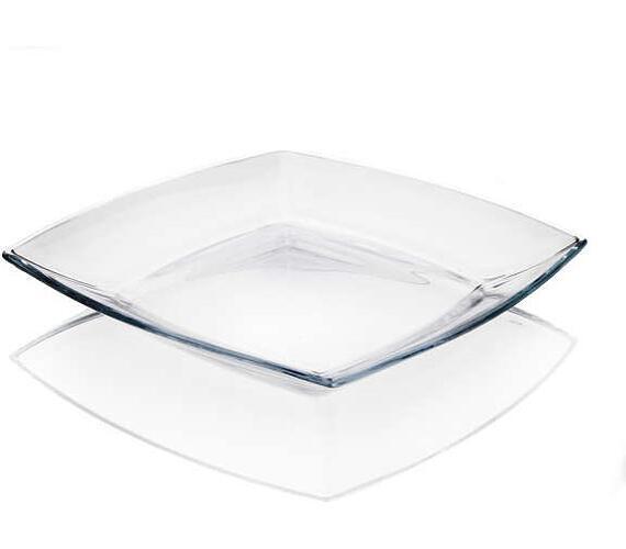 PASABAHCE Sada mělkých skleněných talířů TOKIO 26,5 cm + DOPRAVA ZDARMA