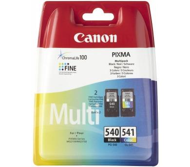 Canon PG-540 / CL-541 originální - černá/červená/modrá/žlutá