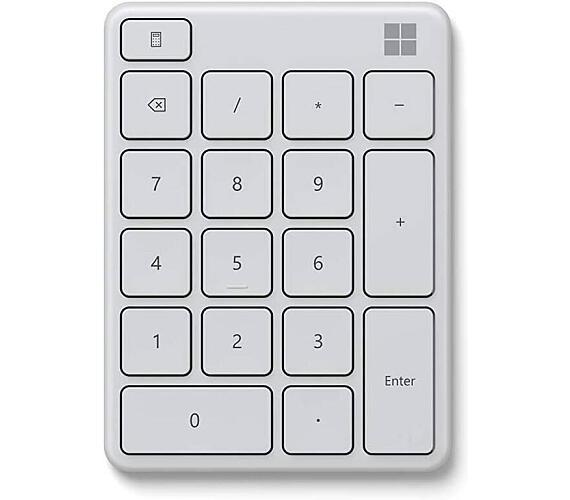 Microsoft Numerická Bluetooth klávesnice Wireless Number Pad