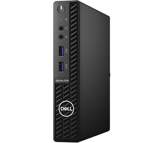 Dell OptiPlex 3080 Micro MFF/ i3-10100T/ 8GB/ 256GB SSD/ Wifi/ W10Pro/ 3Y Basic on-site (H5PYJ)