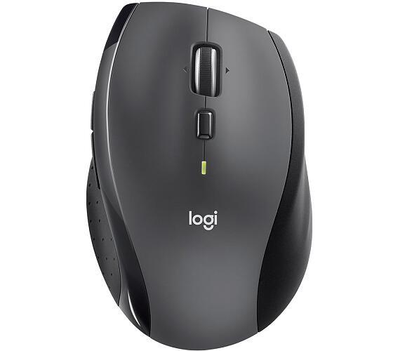 Logitech® Wireless Mouse M705 Marathon Charcoal - EMEA (910-006034)