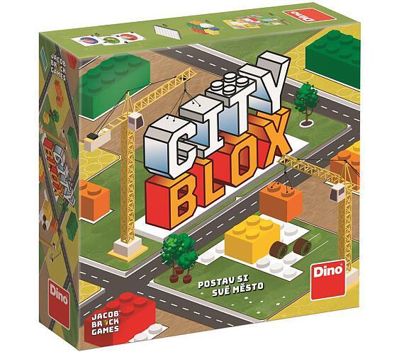 Společenská hra Dino City Blox - Postav si své město + DOPRAVA ZDARMA