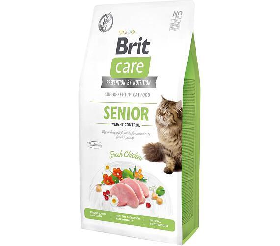 Brit Care Cat GF Senior Weight Control 7kg