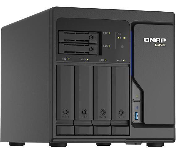 QNAP TS-h686-D1602-8G Xeon D-1602 / 2,5-3,2GHz / 8GBRAM / 4x3,5SATA / 2x2,5SATA / 2xM.2 / 4x2,5GbE / 3xUSB3.2 / 2xPCIe + DOPRAVA ZDARMA
