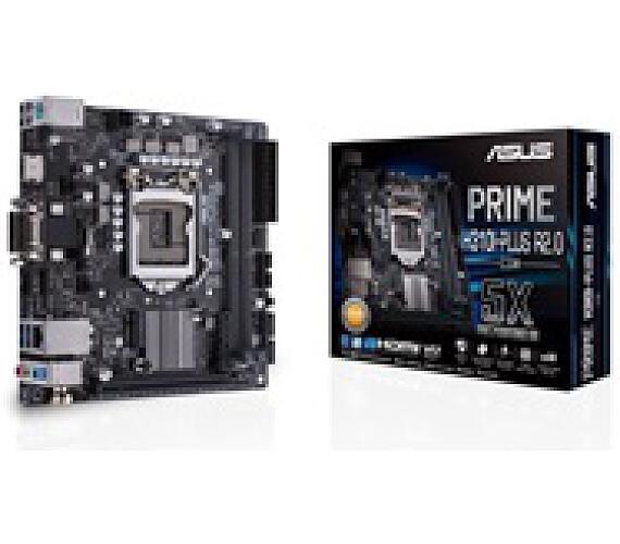 Asus MB Sc LGA1151 PRIME H310I-PLUS R2.0/CSM (SW + PUR RMA)
