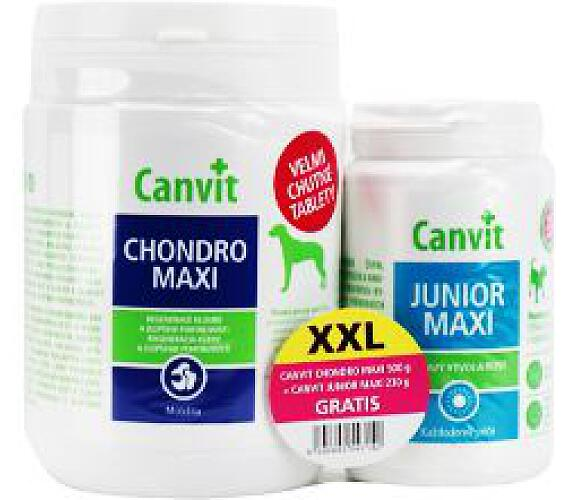 Canvit Chondro Maxi 500g +Canvit Junior Maxi 230g