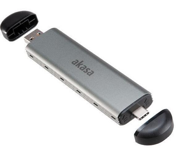 AKASA M.2 SATA / NVMe SSD na USB 3.1 Gen 2 (AK-ENU3M2-04)