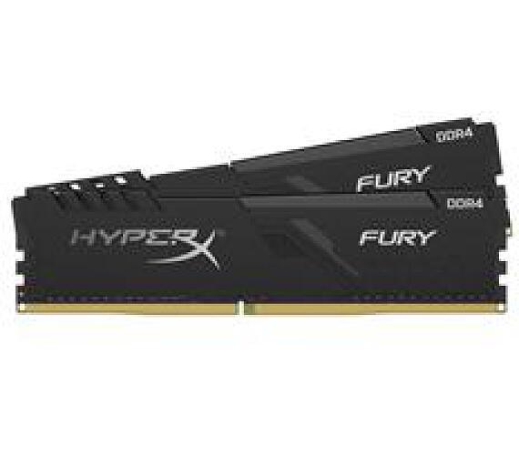 Kingston DDR4 16GB (Kit 2x8GB) HyperX FURY DIMM 3466MHz CL16 SR x8 černá (HX434C16FB3K2/16)