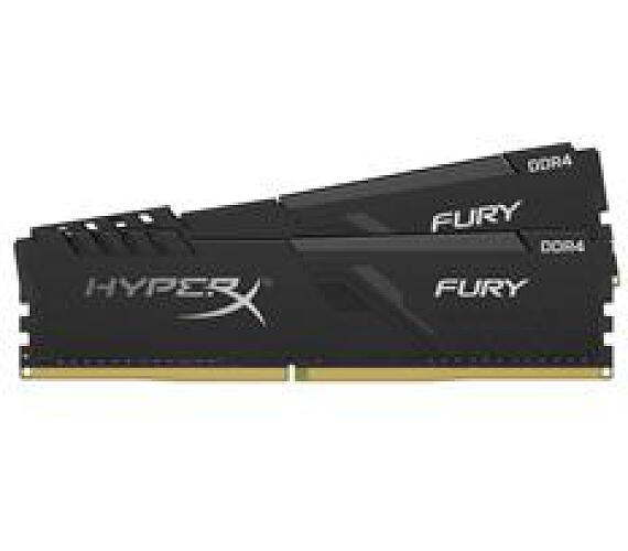 Kingston DDR4 32GB (Kit 2x16GB) HyperX FURY DIMM 3200MHz CL16 černá (HX432C16FB4K2/32)