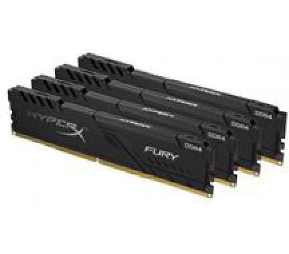 Kingston DDR4 128GB (Kit 4x32GB) HyperX FURY DIMM 3200MHz CL16 černá (HX432C16FB3K4/128)