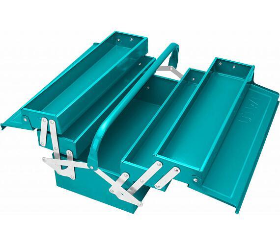 Kufr na nářadí kovový + DOPRAVA ZDARMA