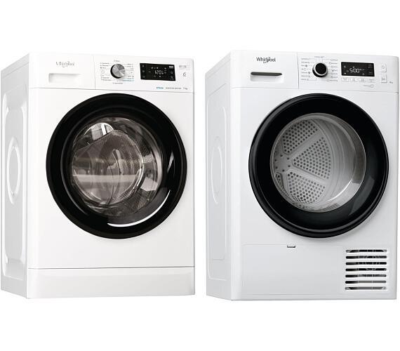 Whirlpool FFB 7238 BV EE + Sušička prádla Whirlpool FT M11 82B EE FreshCare + DOPRAVA ZDARMA