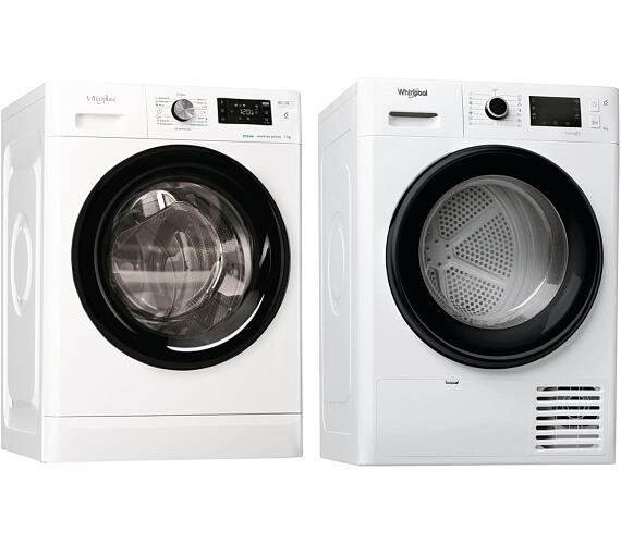 Whirlpool FFB 7238 BV EE + Sušička prádla Whirlpool FT M22 8X3B EU FreshCare + DOPRAVA ZDARMA