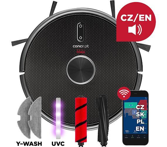 Concept VR3210 3v1 REAL FORCE Laser UVC Y-wash + GARANCE VRÁCENÍ PENĚZ 45 DNÍ* + DOPRAVA ZDARMA
