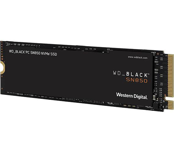 WD SSD BLACK SN850 500GB / WDS500G1X0E / NVMe M.2 PCIe Gen4 / Interní / M.2 2280