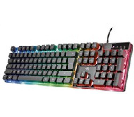 Trust herní klávesnice GXT 835 Azor Illuminated Gaming Keyboard (23651)