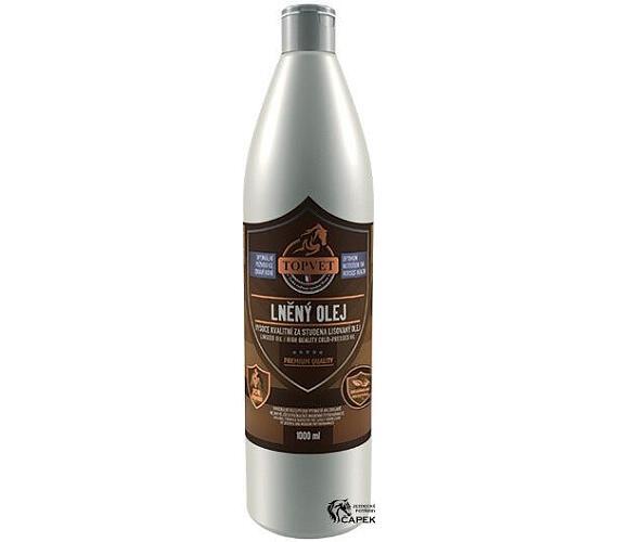 Lněný olej pro koně 1l