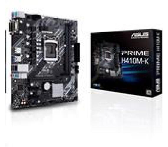 Asus PRIME H410M-K soc.1200 H410 DDR4 mATX D-Sub DVI-D (90MB13I0-M0EAY0)