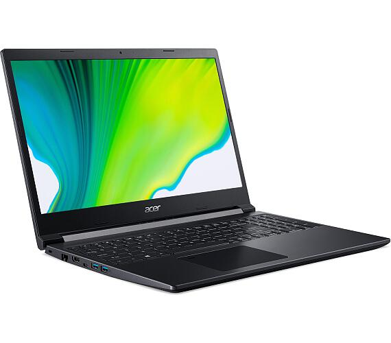 "Acer Aspire 7 (A715-41G-R40P) AMD Ryzen 5 3550H/8GB/512GB SSD/15.6"" FHD IPS LED LCD/GF GTX 1650Ti/W10 Home/Black (NH.Q8QEC.004)"