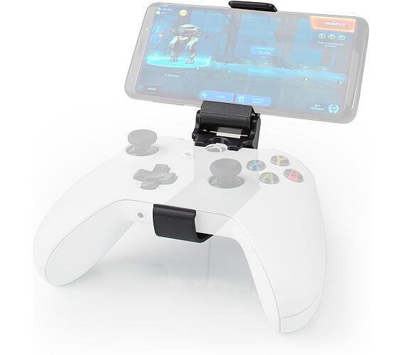 NEDIS herní držák smartphonu/ pro ovladač Xbox One/ univerzální/ nastavitelný/ černý (SGPDX100BK)