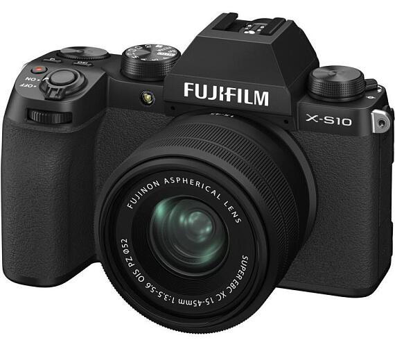 Fujifilm X-S10 + XC15-45MM - Black (16670106) + DOPRAVA ZDARMA