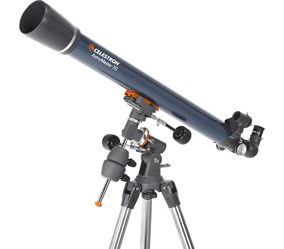 CELESTRON AstroMaster 70/900mm EQ teleskop čočkový (21062) + DOPRAVA ZDARMA