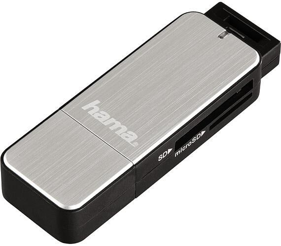 Hama čtečka karet USB 3.0 SD/microSD