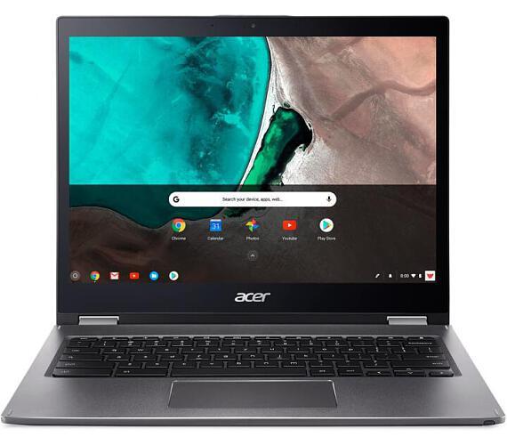 """Acer NTB Chromebook Spin 13 - i3-8130U@2.20 GHz,8GB,128GBSSD,13.5"""" IPS Touch,WIFI+BT,cam,USB3.0,USB Type-C,GC-OS,Šedá (NX.EFJEC.012) + DOPRAVA ZDARMA"""