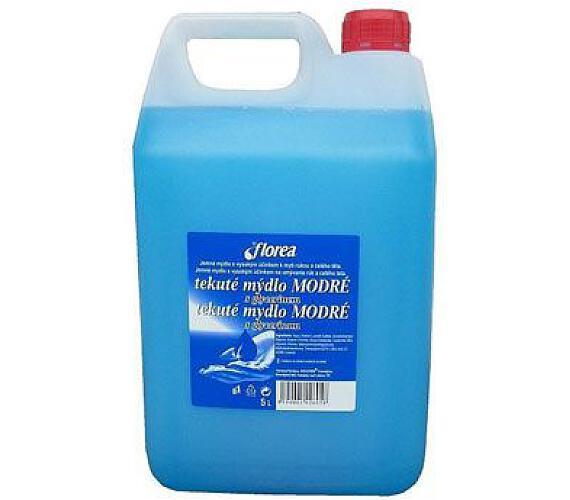 Mýdlo tekuté Florea modré 5l