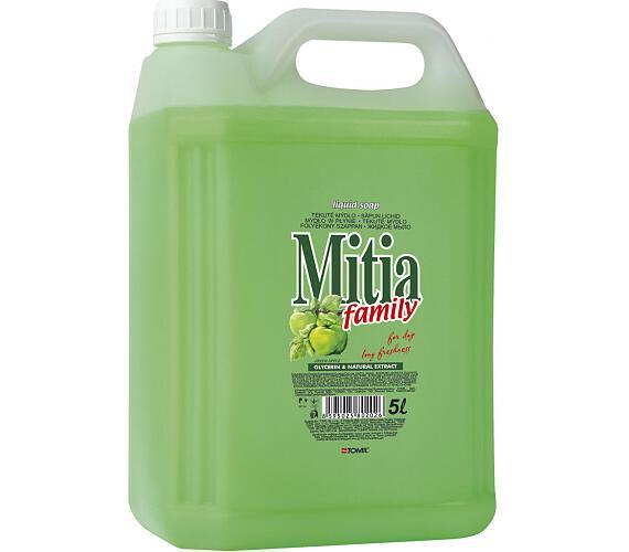 Mýdlo tekuté Mitia Family Zelené jablko 5l