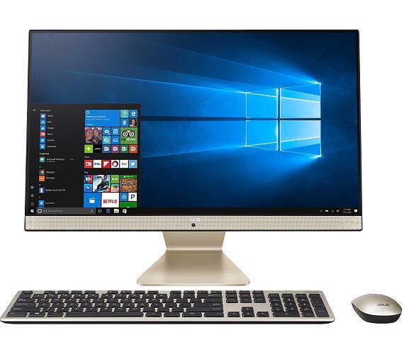 """Asus VIVO AIO V241/23,8""""/Core i5-1135G7 (4C/8T)/8GB/512GB SSD/WIFI+BT/KL+MYŠ/W10H/Gold/2Y Pickup&Ret"""