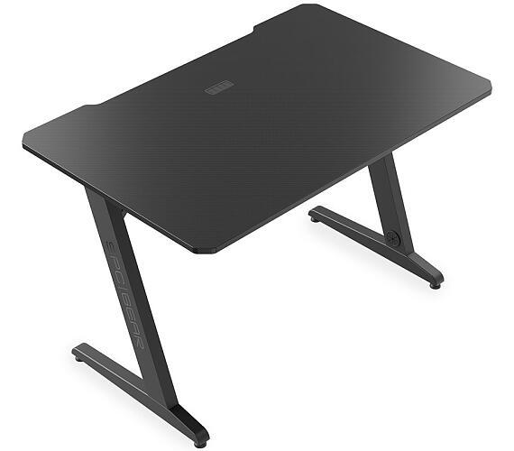 SPC Gear herní stůl GD100 / výřezy pro kabeláž / stabilní / černý (SPG092) + DOPRAVA ZDARMA
