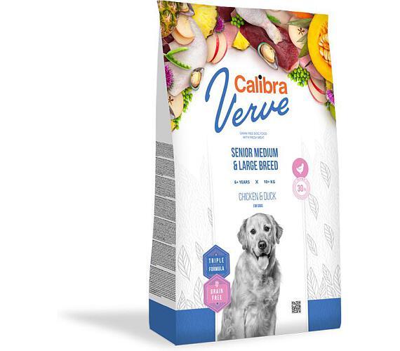CALIBRA Dog Verve GF Senior M&L Chicken&Duck 12kg + DOPRAVA ZDARMA