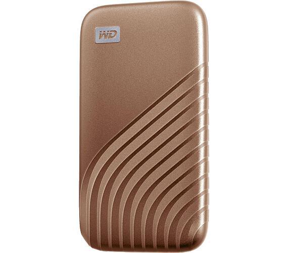 Ext. SSD WD My Passport SSD 500GB zlatá (WDBAGF5000AGD-WESN)