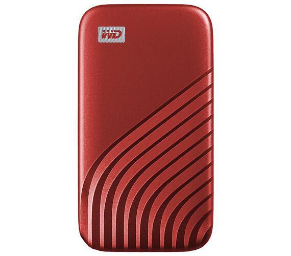 Ext. SSD WD My Passport SSD 500GB červená (WDBAGF5000ARD-WESN) + DOPRAVA ZDARMA