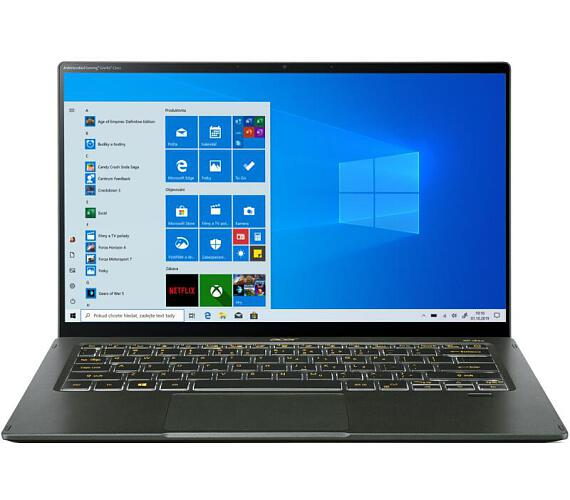 "Acer NTB Swift 5 AS - i7-1165G7@2.80GHz,16GB,1TBSSD,14"" touch FHD,backl,cam,USB3.2,USB Type-C,W10P,Zelená (NX.A6SEC.002)"